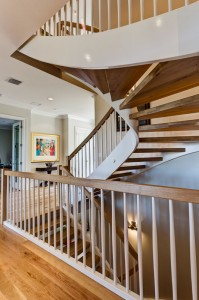 image of new home with stairs
